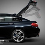 New BMW Serie 4 Coupe 2014 not oficial foto bagage door open view