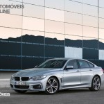 New BMW Serie 4 Coupe 2014 not oficial foto front quarter left view