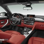 New BMW Serie 4 Coupe 2014 not oficial foto interior view