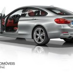New BMW Serie 4 Coupe 2014 not oficial foto left rear profile view