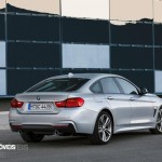 New BMW Serie 4 Coupe 2014 not oficial foto rear quarter 1 right view