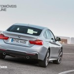 New BMW Serie 4 Coupe 2014 not oficial foto rear quarter right street view