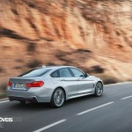 New BMW Serie 4 Coupe 2014 not oficial foto rear quarter right view