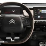 New Citroen C Cactus interior control pannel view 2014