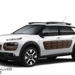 New Citroen C Cactus right profile front view 2014