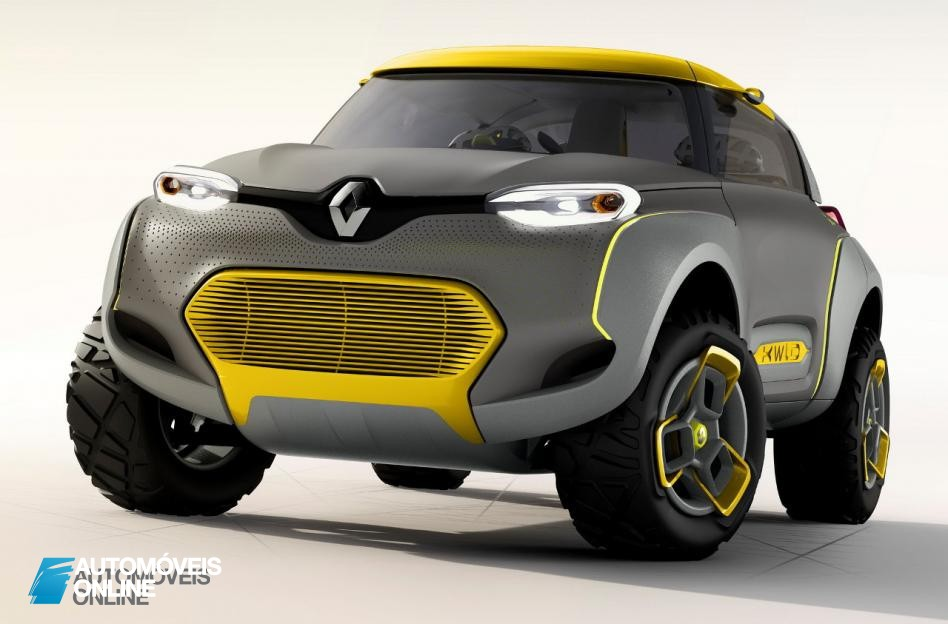 Renault Kwid Concept Crossover 2014 front quarter left view