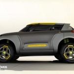Renault Kwid Concept Crossover 2014 letf profile view
