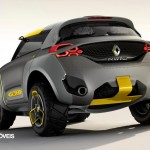 Renault Kwid Concept Crossover 2014 rear quarte letf view