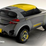 Renault Kwid Concept Crossover 2014 rear quarter right view