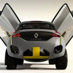 Renault Kwid Concept Crossover 2014 rear wing door open view