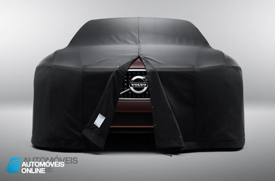 Volvo Concept Estate Front view salao de genebra 2014