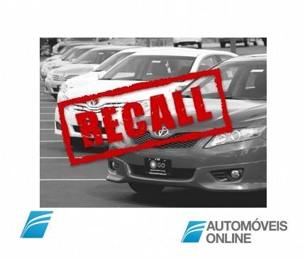 Recall Toyota! Defeito no sistema de Airbag passível de originar incêndio