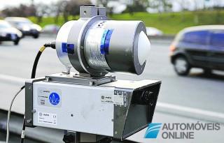 Novo modelo de radar de controlo de velocidade aprovado