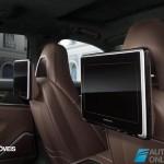Porsche Panamera Exclusive Editionback interior view 2014