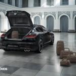 Porsche Panamera Exclusive Editionrear view 2014