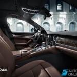 Porsche Panamera Exclusive Editionright interior view 2014