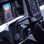 fly car Aeromobil 2017 board panel view