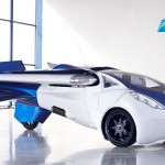 fly car Aeromobil 2017 front right profile view