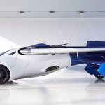 fly car Aeromobil 2017 left profile view