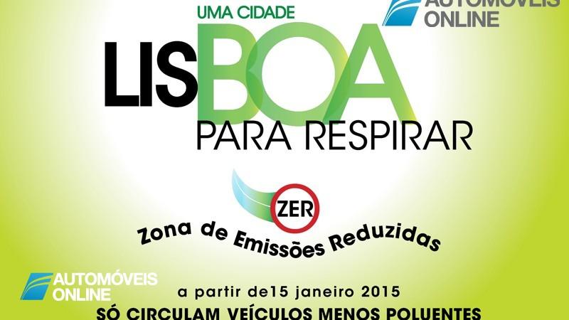 Lisboa proíbe entrada de carros anteriores a 2000 e 1996