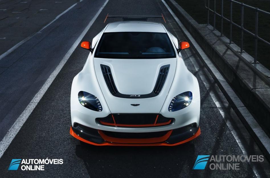 Aston Martin Vantage GT3 chega à estrada