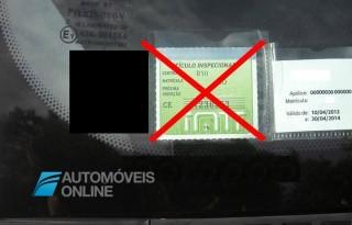 Vinheta de inspecção automóvel deixa de ser obrigatória
