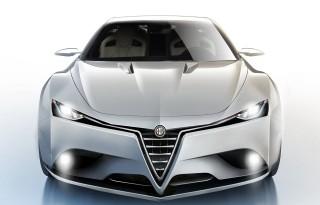 Alfa Romeo Giulia Concept front view