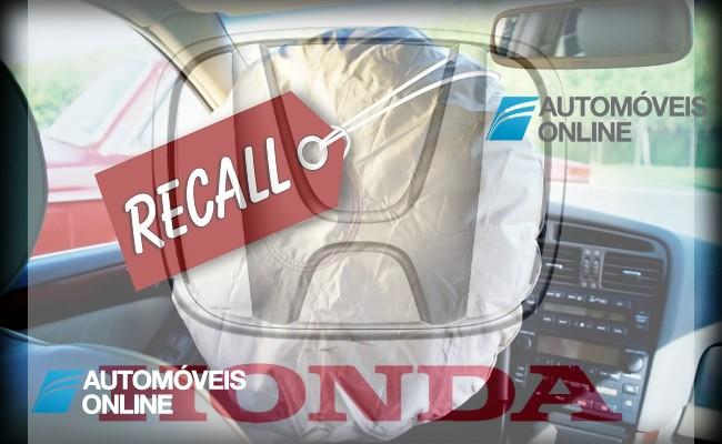 Honda. Nova morte por explosão de airbag