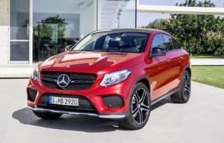 Mercedes GLE Coupé front left quarter view 2015