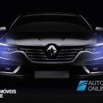 New RENAULT TALISMAN front live trace view 2015