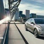 New RENAULT TALISMAN front rght side view 2015