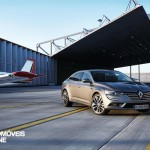 New RENAULT TALISMAN front right quarter hanger view 2015