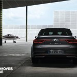 New RENAULT TALISMAN rear hangar view 2015