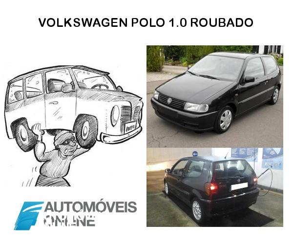 Carro roubado. VW Polo roubado no Porto