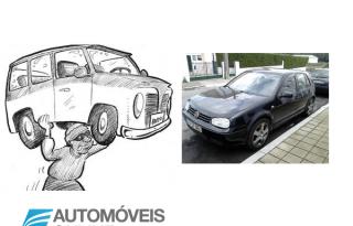 Volkswagen Golf IV TDI roubado em Alfena