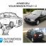 Volkswagen Polo roubado apareceu