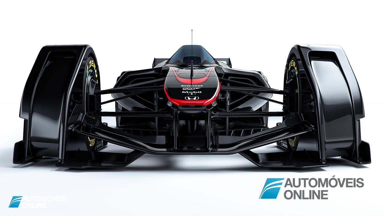 McLaren MP4-X. O F1 do futuro_