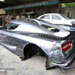 Koenigsegg Agera R. Condutor alcoolizado destrói