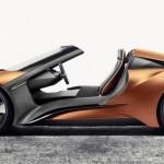 BMW i8 Spyder e o i Vision Future Interaction