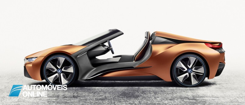 BMW i8 Spyder e o i Vision Future Interaction