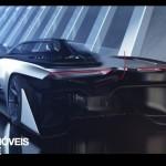 FFZero1 é o concept_rear view