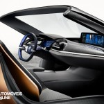 New BMW i8 concept right interior view 2016