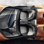 New BMW i8 concept top view 2016