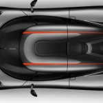New Koenigsegg Agera RS top View 2016