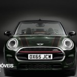 New Mini John Cooper Works Convertible front down view 2016