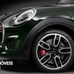 New Mini John Cooper Works Convertible front left profile view 2016