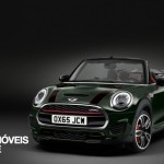 New Mini John Cooper Works Convertible left front quarter view 2016