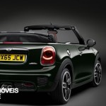 New Mini John Cooper Works Convertible right rear quarter view 2016