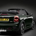 New Mini John Cooper Works Convertible right rear quarter view 2016