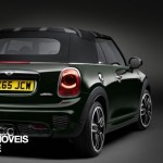 New Mini John Cooper Works Convertible right rear quarter view 2016_1